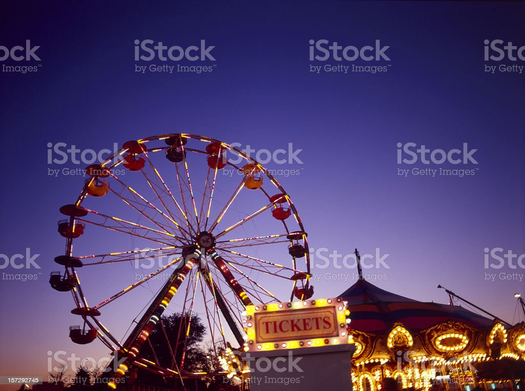 Tulip Festival Carnival IV stock photo