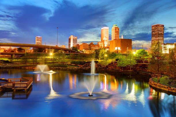 Tulsa, Oklahoma stock photo