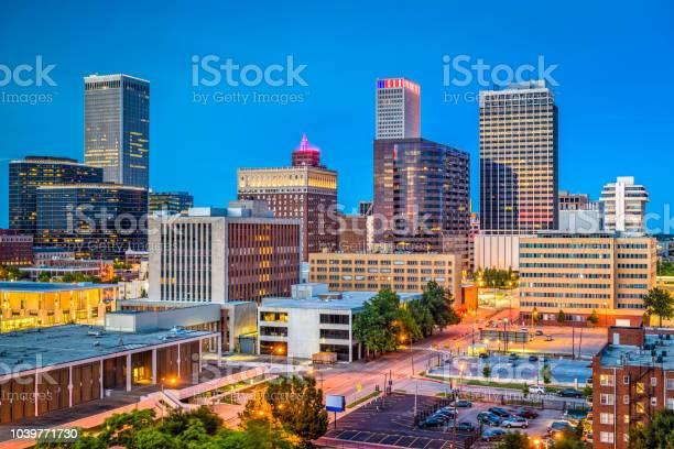 Tulsa Oklahoma Usa Stock Photo - Download Image Now