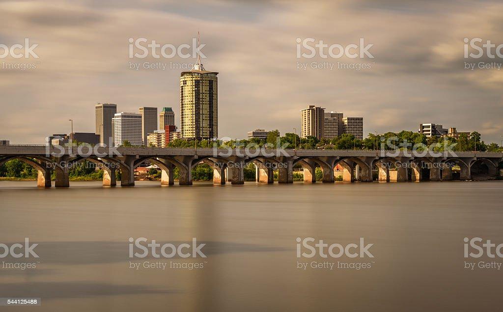 Tulsa Skyline stock photo