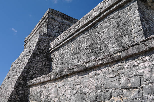 Tulum Ancient Mayan Ruins in Mexico Tulum Mayan RuinsTulum Mexico Mayan Ruins in the Yucatan Peninsula naya rivera stock pictures, royalty-free photos & images