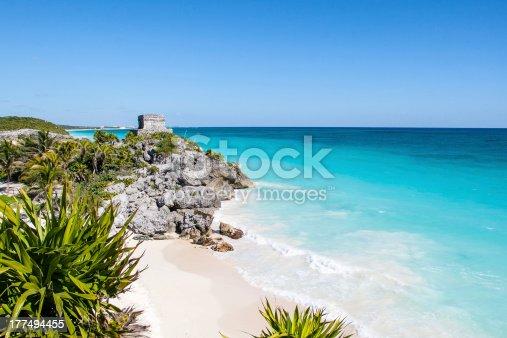 istock Tulum beach 177494455