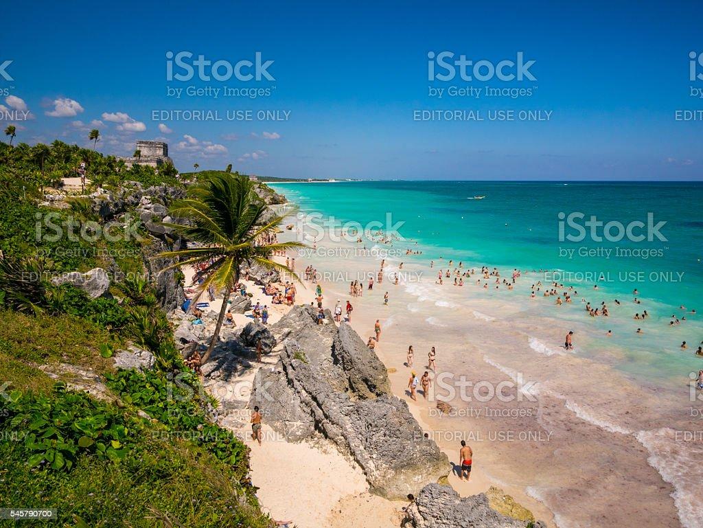 Tulum, Mexico stock photo