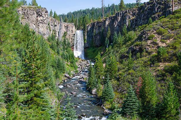 tumalo falls, oregon - bend oregon stock pictures, royalty-free photos & images