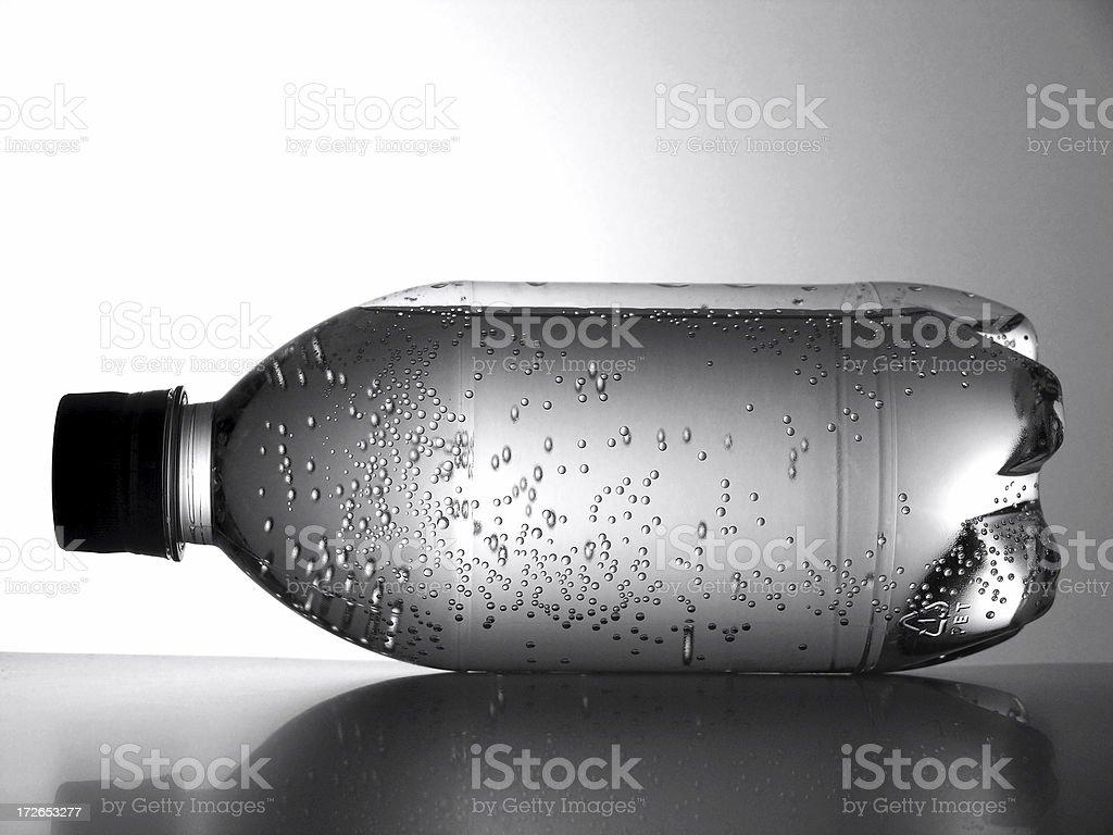 tumbled bottle royalty-free stock photo