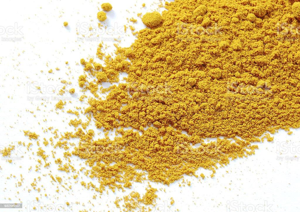 Tumeric Powder royalty-free stock photo
