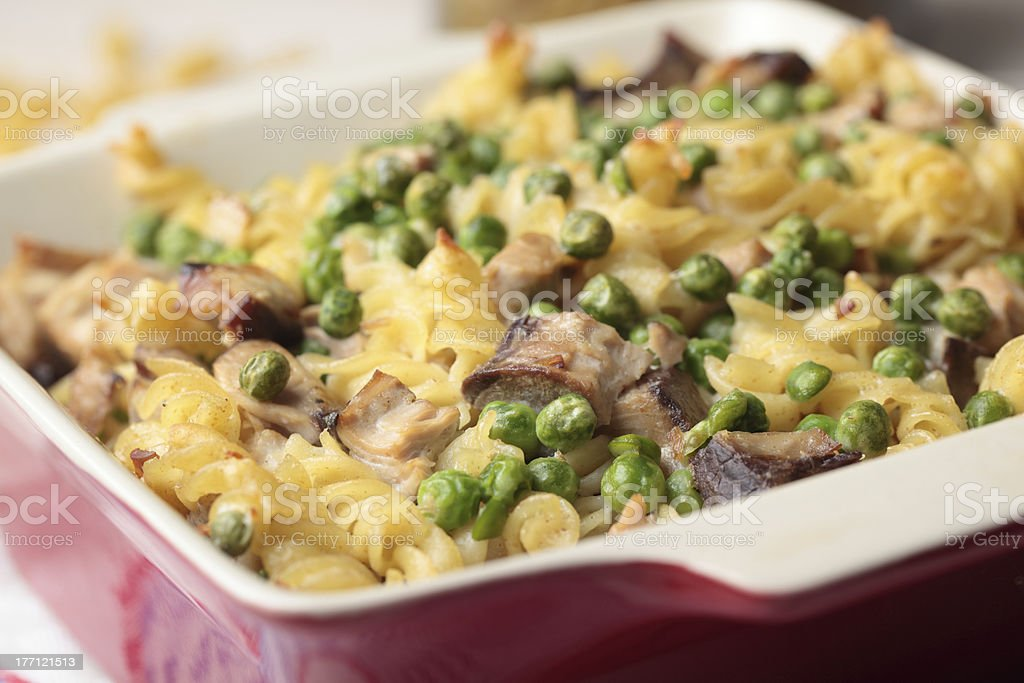Tuna casserole royalty-free stock photo