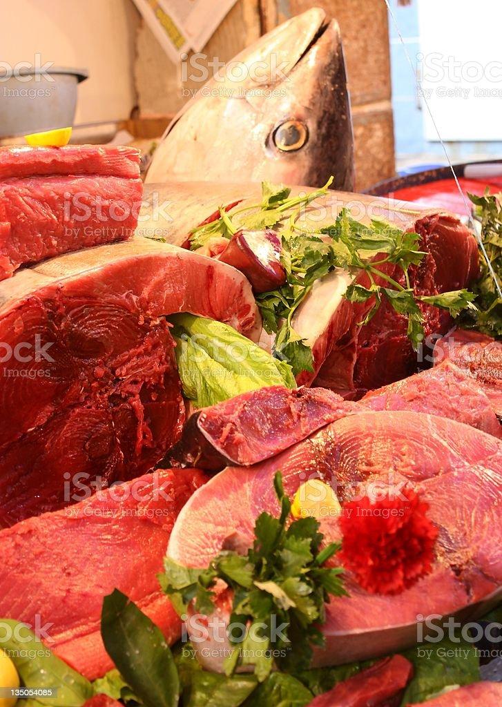Tuna fish royalty-free stock photo