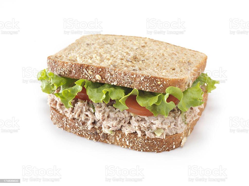 Tuna Fish Salad Sandwich stock photo