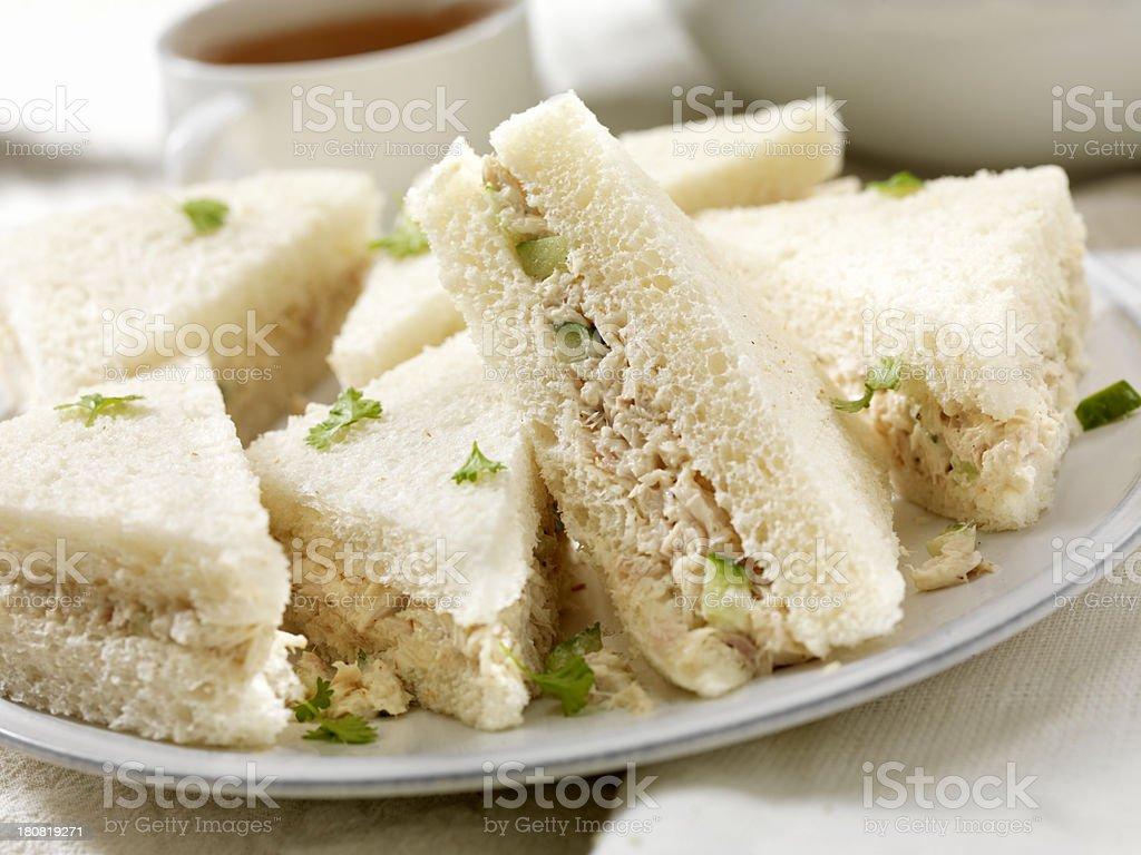 Tuna Fish Sandwiches stock photo
