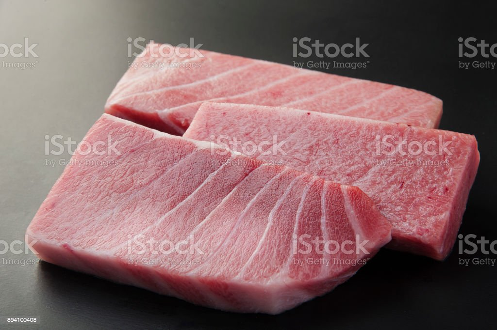 Tuna Honmagrotoro stock photo