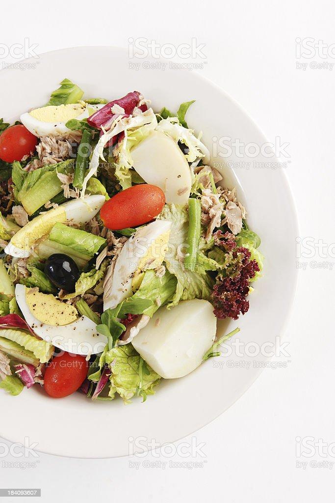 Tuna Nicoise Salad royalty-free stock photo