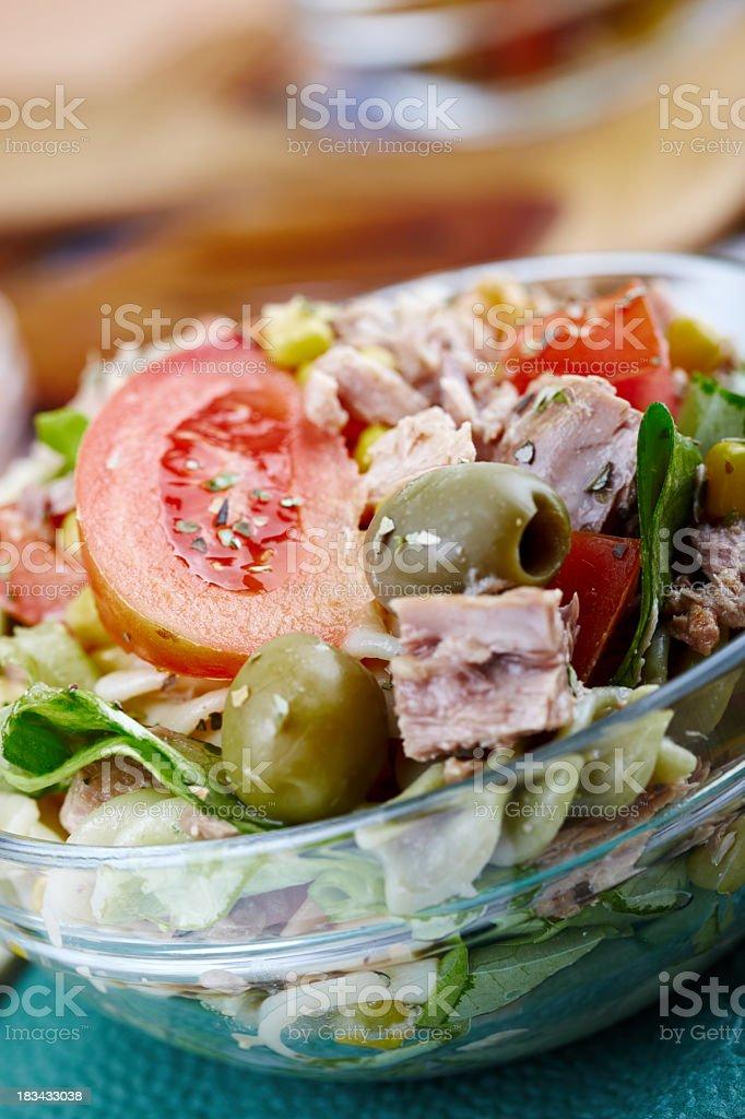 Tuna salad royalty-free stock photo