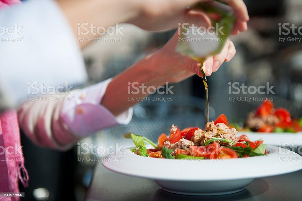 Thunfisch-Salat  – Foto