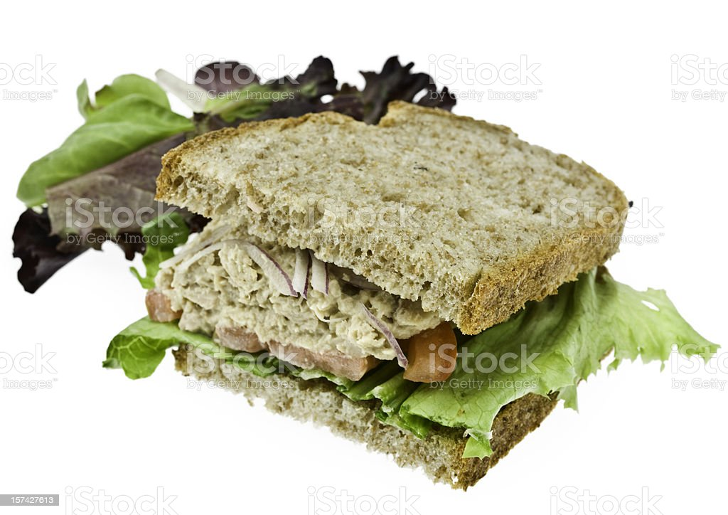 Tuna Salad Sandwich royalty-free stock photo