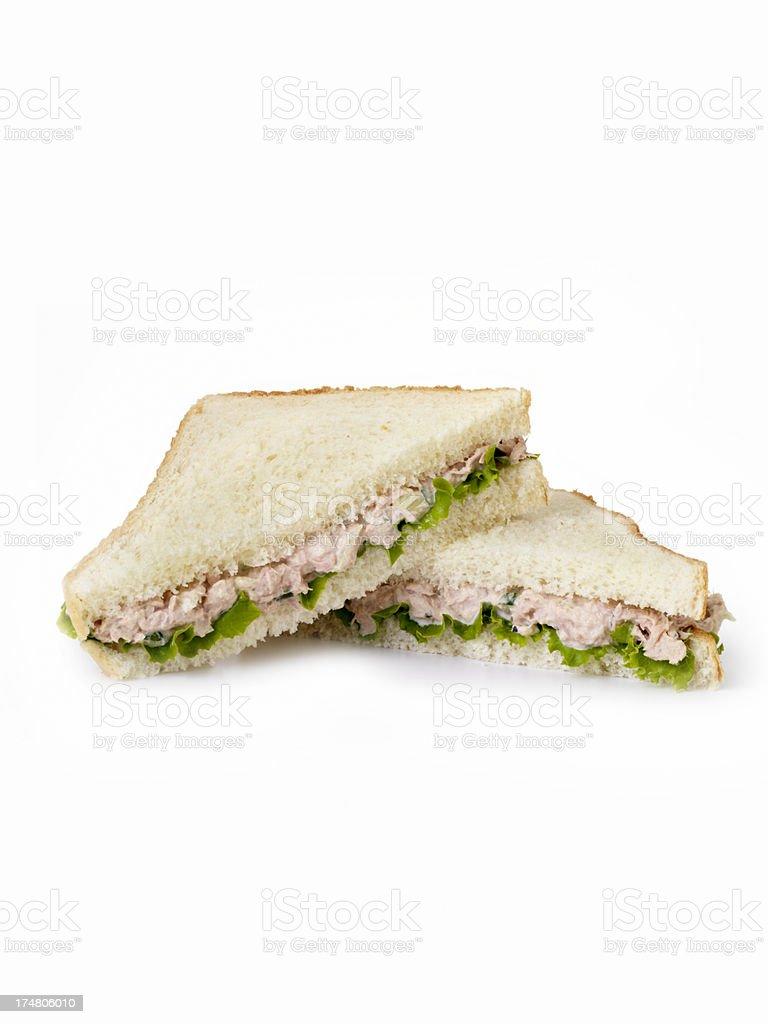 Tuna Salad Sandwich stock photo