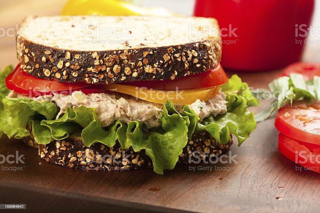 Tuna Sald Sandwich royalty-free stock photo