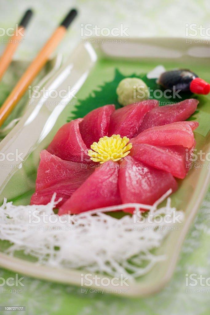 Tuna Sashimi royalty-free stock photo