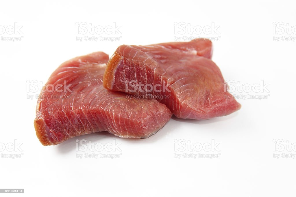 Tuna steaks royalty-free stock photo