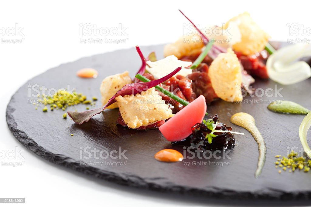Tuna Tartare stock photo