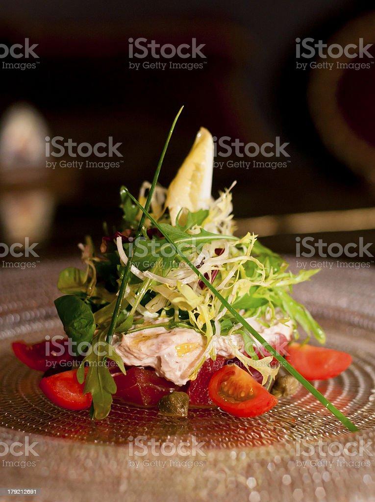 Tunas salad royalty-free stock photo