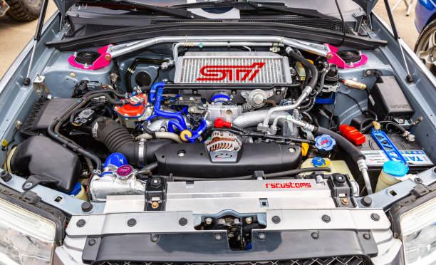 Abgestimmte Turbomotor Auto Subaru Fahrzeug – Foto