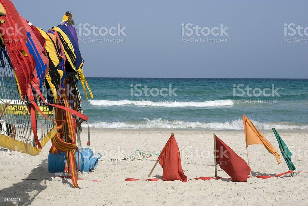 Tunesien Strand royalty-free stock photo