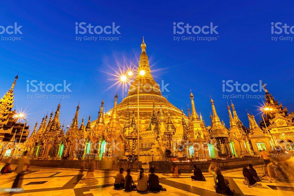 Tung Pagoda stock photo