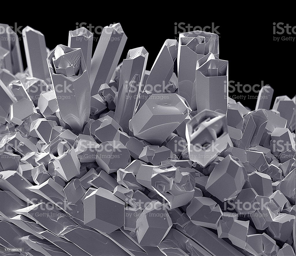 Tungsten Filament 624 x Magnification royalty-free stock photo