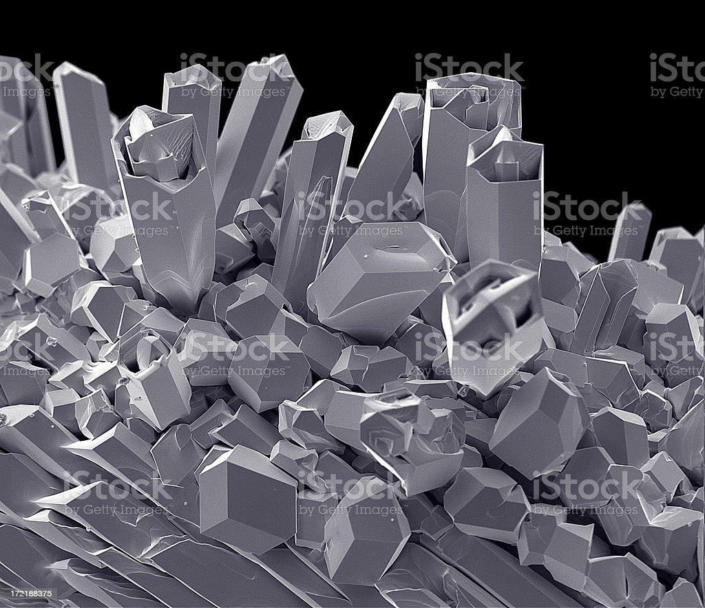 Tungsten Filament 624 x Magnification stock photo