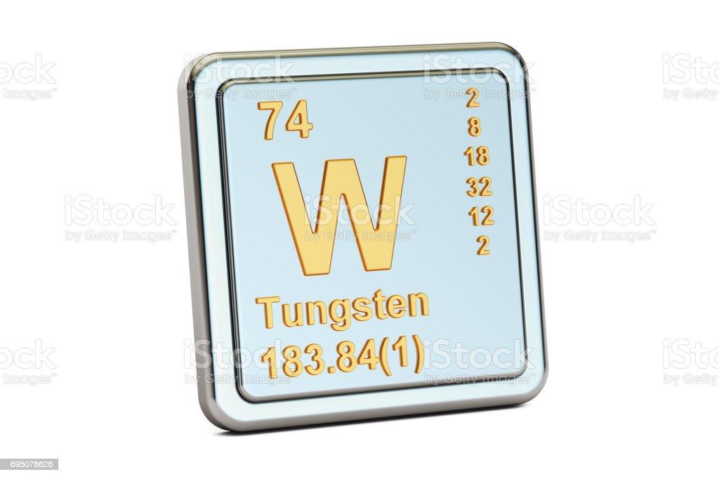 元素 記号 w