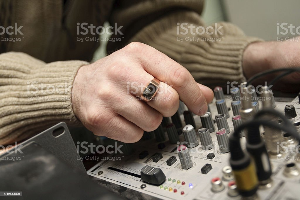 tuning stock photo