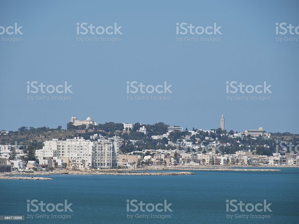 tunis stock photo