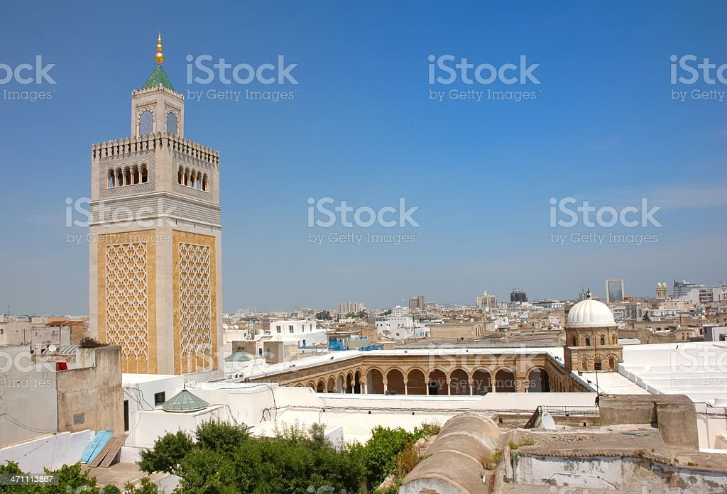 Tunis, Tunisia stock photo