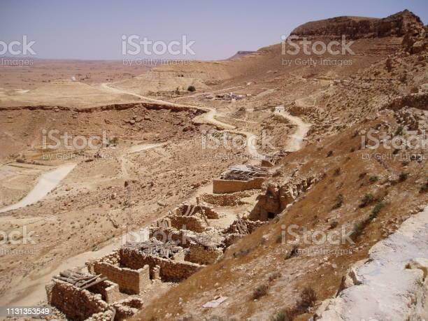 Tunisia desert Berber city