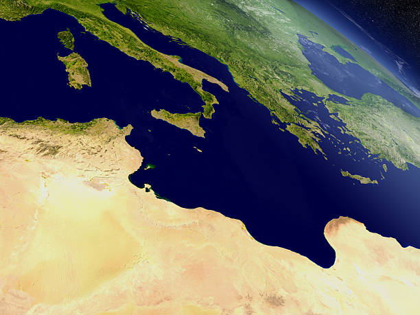 Tunisia from space – Foto