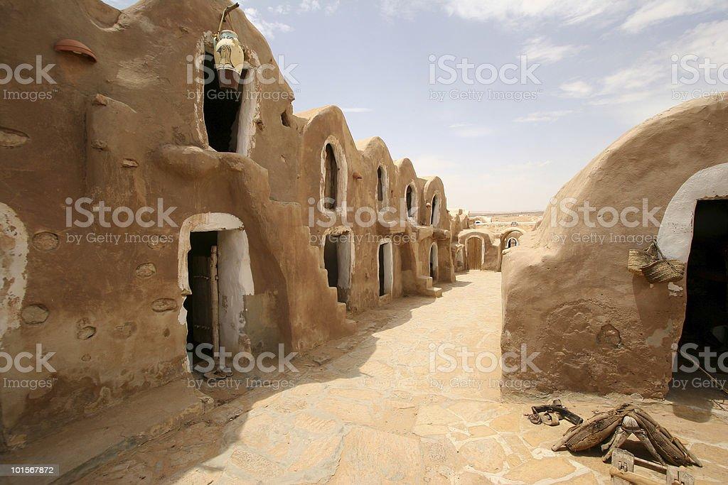 Tunisia, Medenine - Starwars film shooting place #1 stock photo