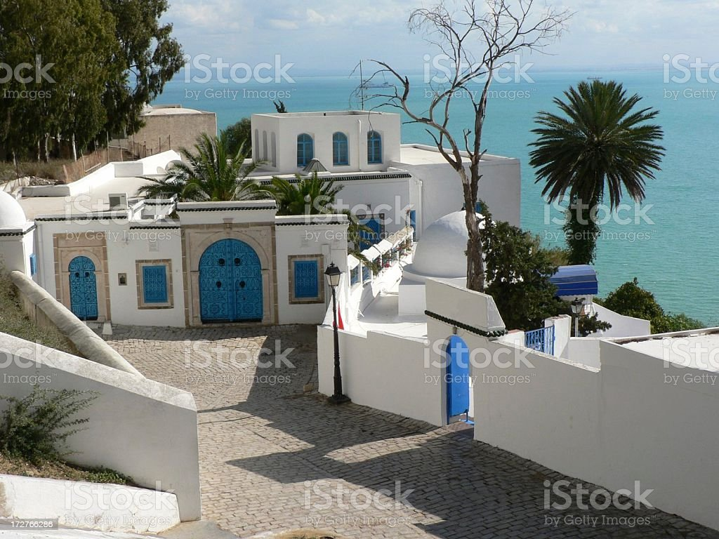 Tunisian Coast stock photo