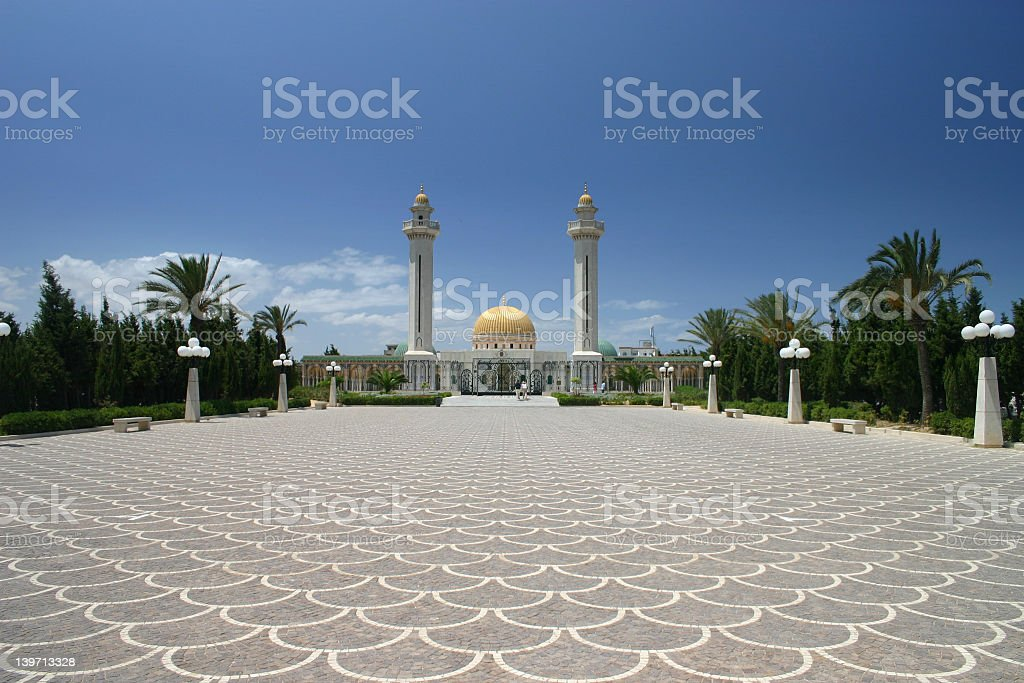tunisian palace stock photo