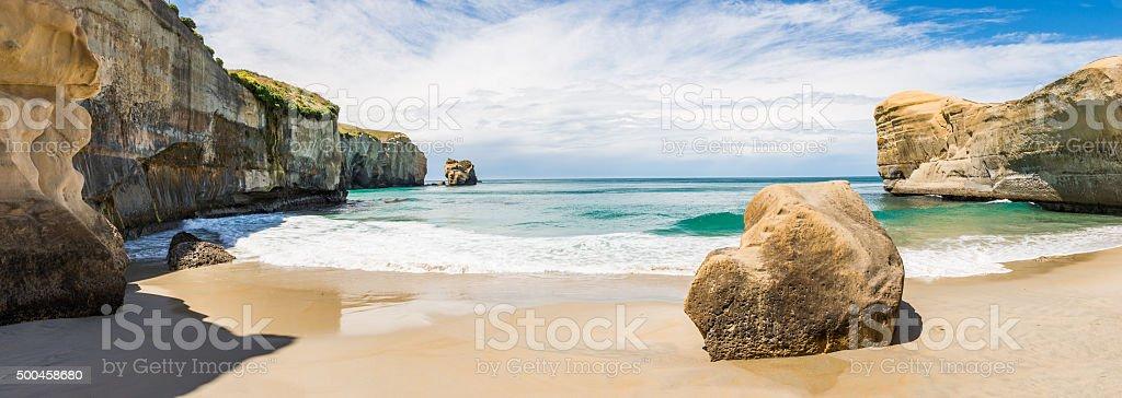 Tunnel Beach stock photo