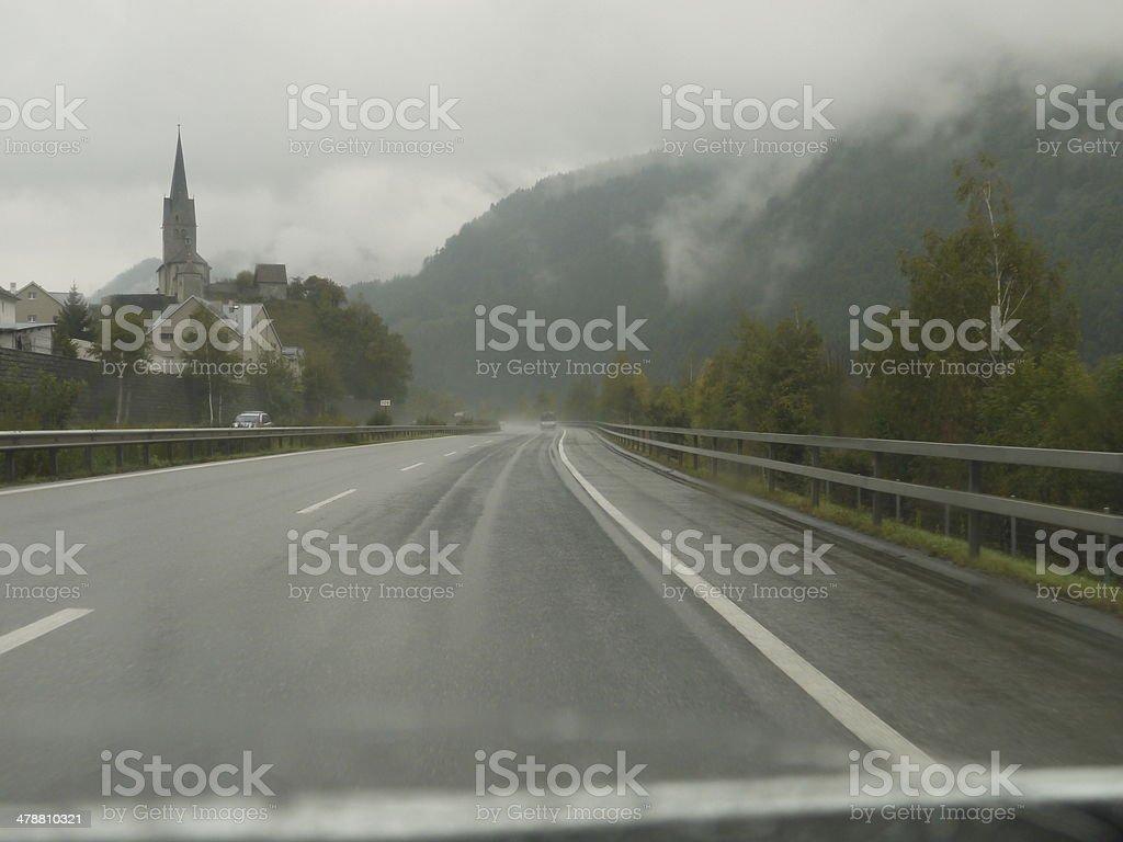 Túnel de automóviles - foto de stock