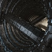 tunnel cave modern greeble
