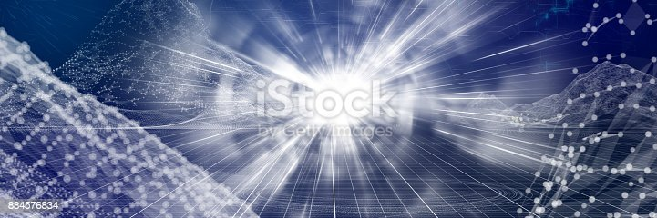 489599728 istock photo Tunnel full of energy 884576834