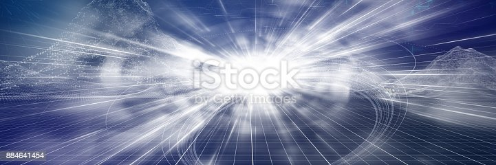 istock Tunnel full of energy 884641454