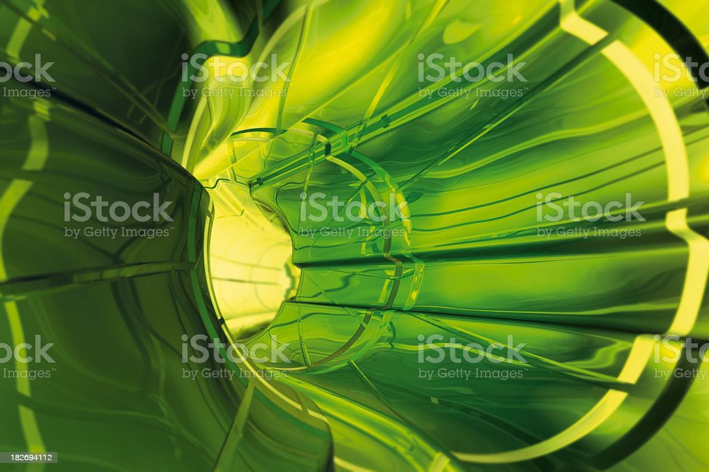 Tunnel Glass royalty-free stock photo
