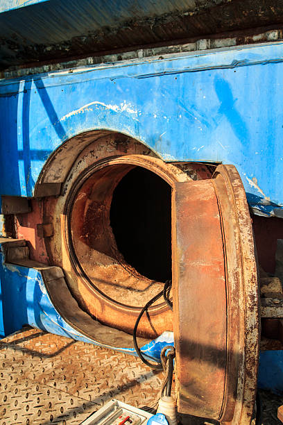 Tunnel  industry Confined Industry, tunnel ventilation, heat, humidity and dust. confined space stock pictures, royalty-free photos & images