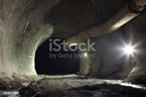 istock Tunnel junction 184607083