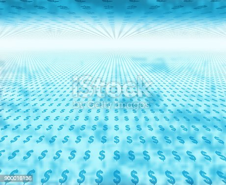 istock Tunnel of Currency 900016136