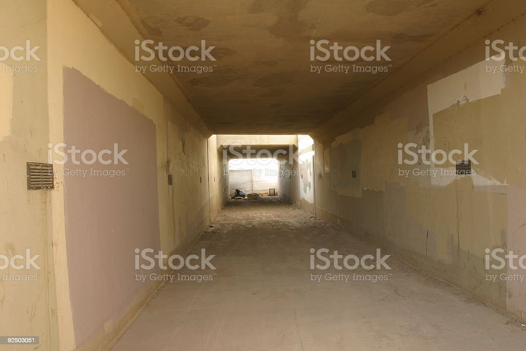 Tunnel Path royalty-free stock photo