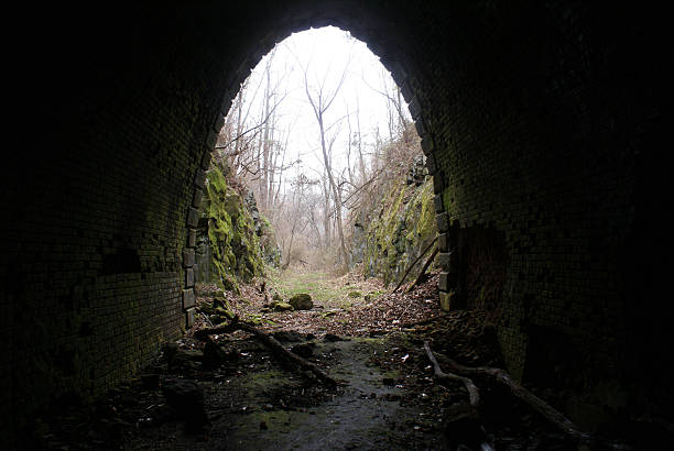 tunnel - cursed stock pictures, royalty-free photos & images